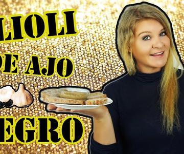 Alioli con AJO NEGRO - increíble en su sabor y NUTRICIÓN TOTAL !!! 😍
