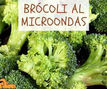 Brócoli al Microondas 🤤 ¡EN 1 MINUTO! por @El Cuchinero