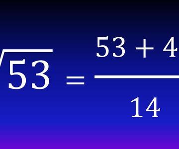 Calcular raíz cuadrada muy fácil sin calculadora (Método babilónico) (Ejemplo 2)