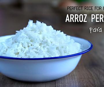 Como cocinar arroz perfecto para hacer arroz frito - Perfect rice for fried rice l Kwan Homsai