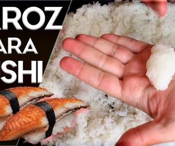 ✔️ CÓMO hacer ARROZ para SUSHI fácil paso a paso en CASA | Juan pedro cocina