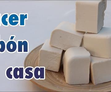 Cómo hacer jabón casero con aceite / jabón de Castilla