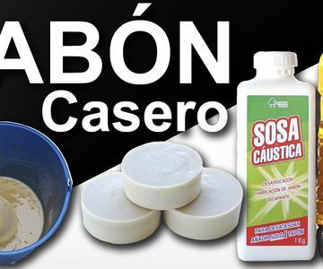 Cómo hacer jabón casero con aceite usado ♻️