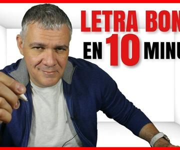 CÓMO MEJORAR TU LETRA Y TENER LETRA BONITA EN 10 MINUTOS
