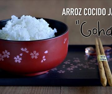 """Como preparar Arroz japonés \""""Gohan\""""- How To Cook Japanese Rice"""
