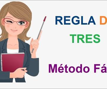 Cómo resolver REGLA DE TRES SIMPLE | MÉTODO FÁCIL Y RÁPIDO