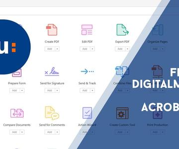 Digitally sign document with Adobe Acrobat