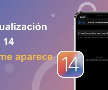 No me aparece la actualización iOS 14 (solución efectiva)