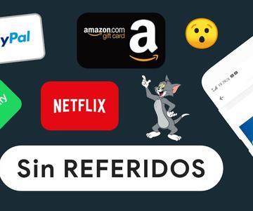 Nueva App💰 para GANAR DINERO a PayPal, Amazon, Spotify y Netflix Giftcard (Sin REFERIDOS) 2020