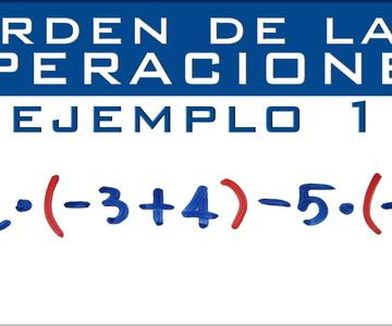 Operaciones combinadas con números enteros | Suma, resta, multiplicación, división y paréntesis
