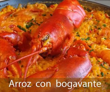 PAELLA DE MARISCO / Arroz con Bogavante / Lobster Rice | Tonio Cocina!