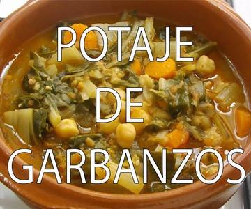 Potaje de Garbanzos - Chickpea stew