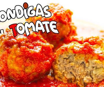 Receta ALBONDIGAS CASERAS con tomate ►►💥 TRUCO super JUGOSAS