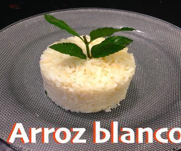 Receta de arroz blanco con medidas exactas