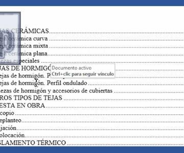 Word - Índice automático en Word, ordenado y vinculado al documento. Tutorial en español HD