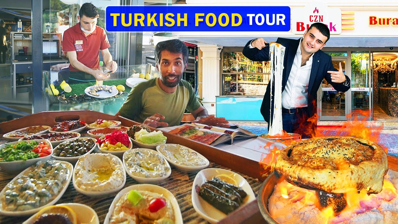 Best Turkish Food Tour in Istanbul | CZN Burak | Ep. 26 | Motorcycle Tour From Germany to Pakistan