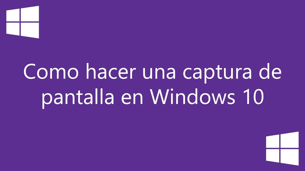 Windows 10: como hacer una captura de pantalla